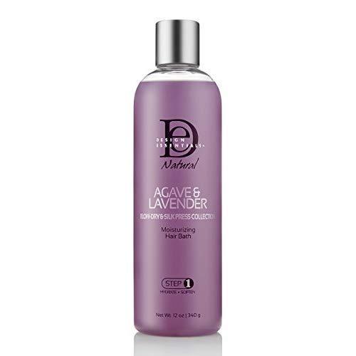 Design Essentials Bain Hydratant pour Cheveux Agave et Lavande Naturels - 354 ml (étape 1)