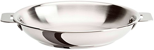 Cristel Multiply Stainless Steel 12 Inch Frying Pan