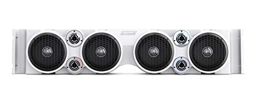 TJ/YJ American SoundBar Jeep Wrangler Overhead Audio Sound System Includes: Free Timpano Super Tweeters (White)