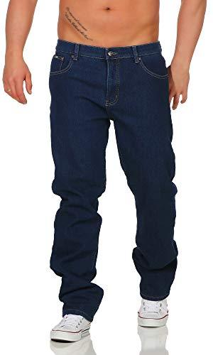 BEZLIT Herren Thermo-Hose Jeans-Hose Stretch Winter-Hosen gefuttert Regular Fit 22893, D 46(Herstellergröße: 52), Blau