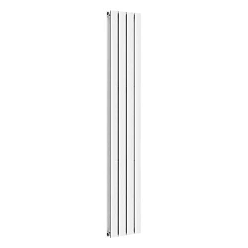 Design Paneelheizkörper einlagig zweilagig Flachheizkörper Bad Heizkörper Heizung, Ausführung:Doppellagig, Maße:1600 x 376 x 78 mm