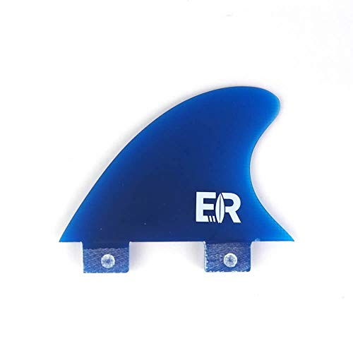 "Eisbach Riders River Surfing Surfboard FCS Trailer Finne (Blau, Medium - 2.6\"")"