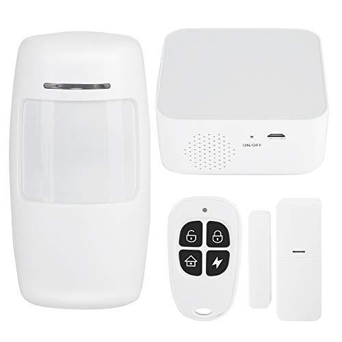VbestLIFE bewegingsmelder, wifi, draadloos, PIR-alarm, tester van 433 MHz, wifi, GSM, 100 – 240 V EU