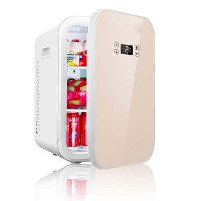 YRRC 22L Coche pequeño refrigerador de la casa pequeña de un Solo Uso de Coche de Doble Uso a los Estudiantes Micro Alquiler compartidas Nevera portátil para Acampar congelador,A