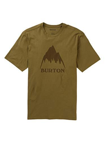 Burton Mens Classic Mountain High Short Sleeve, Martini Olive, Large
