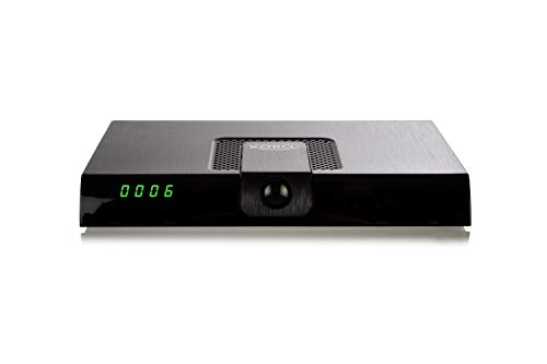 Xoro HRK 7720 digitaler Kabel Receiver (DVB-C HD, HDMI, Media Player, PVR, USB, SCART Kabel) Schwarz