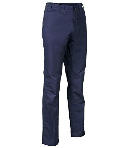 Cofra V476-0-02.Z48 NEAPOLI Hose, 100% Baumwolle 250G, Marineblau, Größe 48
