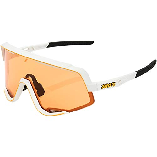100 Percent Herren Glendale-Soft TACT Off White-Persimmon Includes Smoke Lens Instead of Standard Spare Sonnenbrille, M