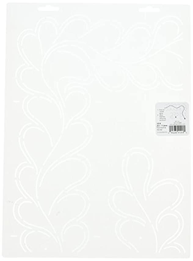 Quilting Creations Full Feather Border Quilt Stencil