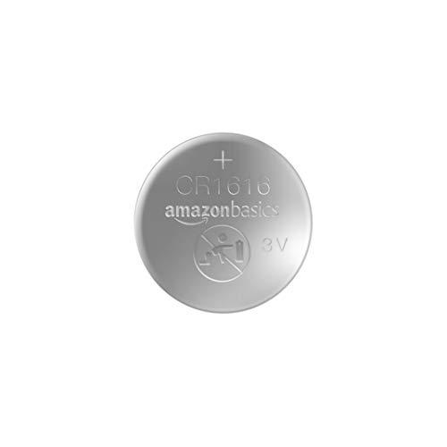 AmazonBasics – CR1616 Lithium-Knopfzelle, 2er-Packung