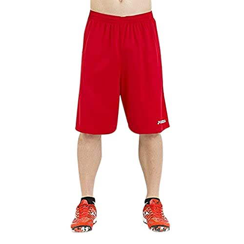 Joma 100051.600 Bermuda Sportswear, Rouge, FR : S (Taille Fabricant : S)