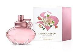top 10 women s perfumes Shakira S Eau Florale Deluxe Edition Eau de Toilette Spray, 2.7 oz.