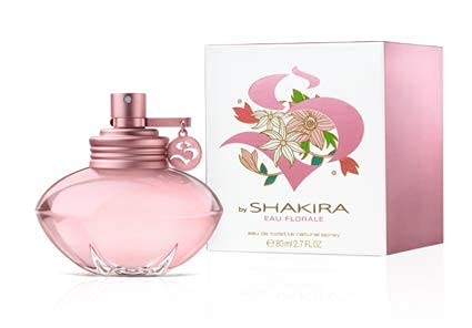 Shakira Perfumes - S by Shakira Eau Florale for Women, Fresh and Floral Fragrance, 2.7 Fl Oz
