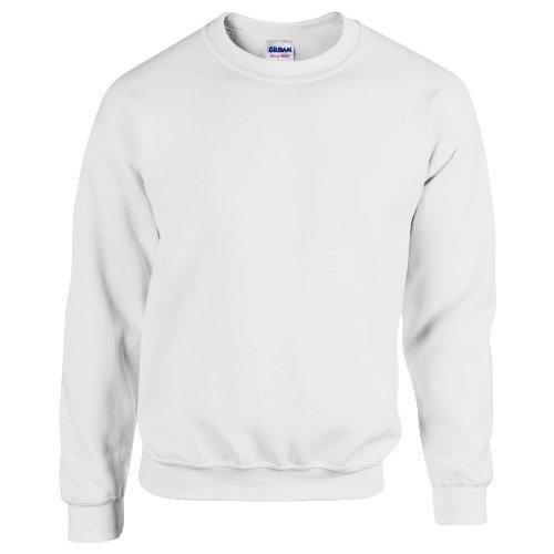 Gildan Herren Sweatshirt, Ash, L