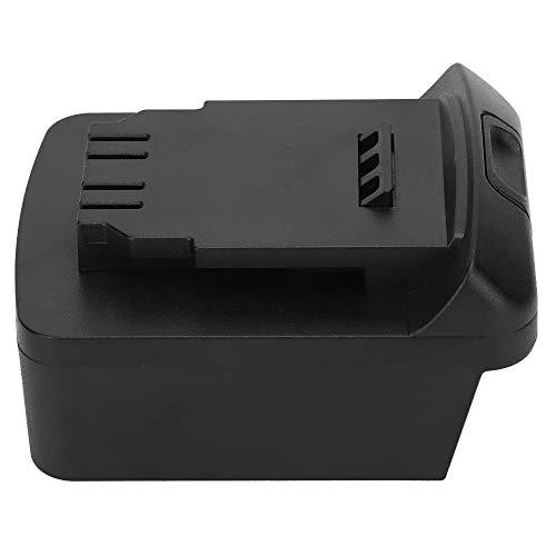 Adaptador Convertir para M18 Li-ION Batería a DCB200 DCB205 20 V Li-ion Batería Negro