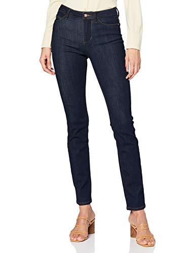 TOM TAILOR Damen Kate Slim Jeans, 10115 - Clean Rinsed Blue De, 30W / 32L