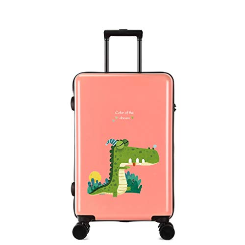 LLRDIAN Hand Carry-on Suitcase Luggage Bag Luggage Suitcase Hand Luggage Hard Shell Luggage Lightweight Hand Luggage Suitcase (Color : Pink, Size : 35×23×55cm)