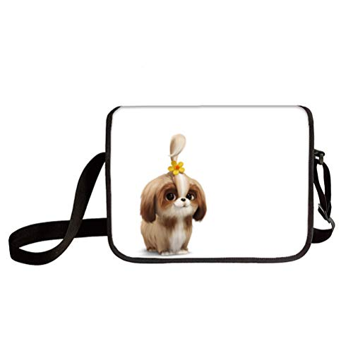 The Secret Life of Pets Mochilas Escolares Luz elegante bolso de hombro niños Ocio Ligero Mensajero Bolsa de moda Diseño de moda Bolsa de hombro Bolsa de hombro Messenger Bolsas Múltiples bolsillo Cro