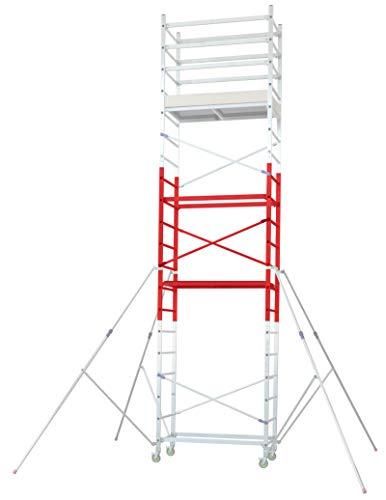 FACAL Alto Modul 3; Aufstockung auf 6,90m Arbeitshöhe auf das Facal Alto 410 (Alto 205 + Modul2); zur nachträglichen Montage und Erweiterung
