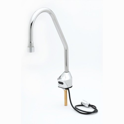 T&S Brass EC-3100-LF22-SB ChekPoint Deck Mount Sensor Faucet with Surgical Bend Nozzle and 2.2 GPM, VR Laminar Device