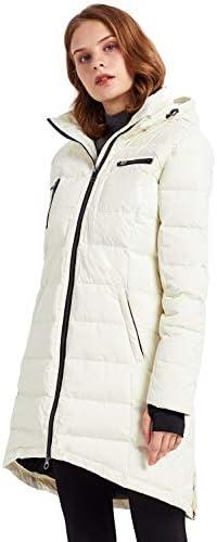 Orolay Women s Down Jacket Coat Mid Length White XS product image
