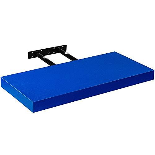 STILISTA® Wandregal Volato, Wandboard freischwebend, Längen 30cm-110cm, Bücherregal 14 Farbvarianten, Stärke 3,8cm, Schweberegal schadstoffgeprüft