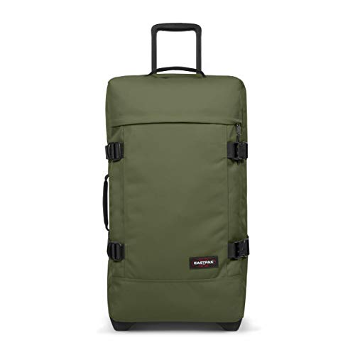 Eastpak Tranverz M Suitcase, 67 cm, 78 L, Dark Grass (Green)