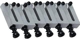 Fender American Series Strat/Tele Bridge Sections/Saddles Powder Coated, Set of 6