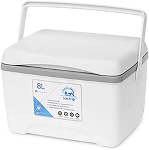 MOCHENG 8L portátil al aire libre picnic congelador refrigerador aislamiento y caja de mantenimiento fresco adecuado para picnic