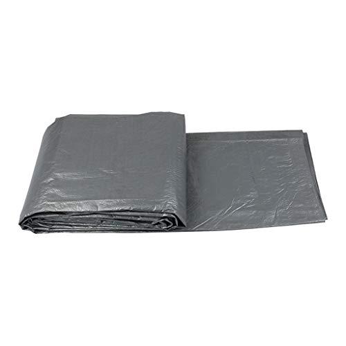 TONG YUE SHOP Bâches imperméables en Tissu de bâche de bâche de Voiture de Camion de bâche de Protection Solaire de bâche Gris Argent (Size : 2.8x3.8 Meters)
