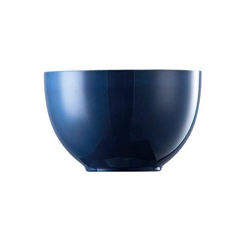 Thomas 15456 Sunny Day Bol en porcelaine lavable au lave-vaisselle Bleu pétrole 12 cm