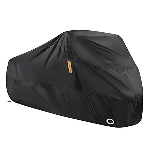 MAFANG Funda Para Moto, 210T Cubierta De La Moto Cubierta Protectora, Impermeable Y Resistente Al Viento, Antipolvo, Apto Para Motos, Bicicletas, Etc, Dos Tamaños,Motorcycle
