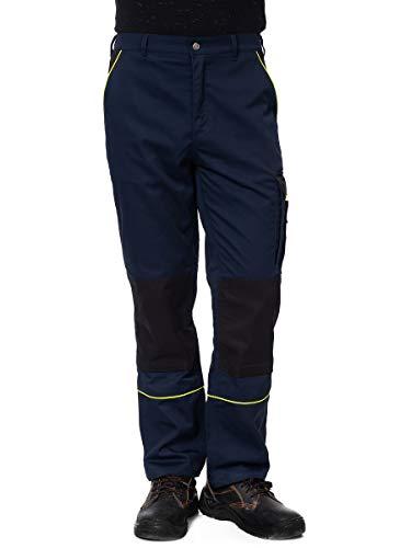 DINOZAVR Herren Arbeitshose Bundhose/Cargohose mit Multifunktions- und Kniepolstertaschen - strapazierfähig