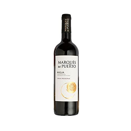Vino Tinto Marques del Puerto Gran Reserva de 75 cl - D.O. Rioja - Bardinet (Pack de 1 botella)