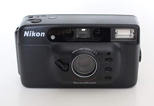 Find Bargain Nikon Sport Touch 35mm Film Camera Weather-Resistant/Splash Proof