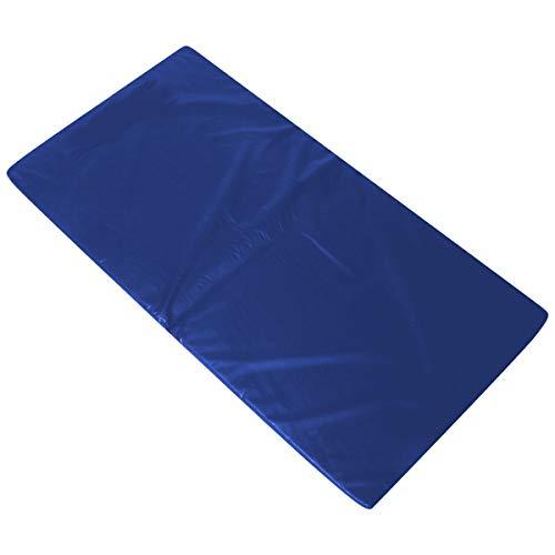 Colchonete Academia Fitness Abdominal 90 X 40 X 3 Cm D33 (Azul)
