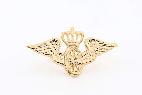 Zunftbedarfde Abzeichen Flügelrad K.P.E.V mit Krone klein Stück goldf. (1)