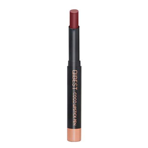 Kapian Wasserdicht Matte Lipstick Schönheit Lippe Gloss, 15 Farben Nude Metallic Velvet Glossy Lipgloss Lip Cream Langanhaltend und Wasserfest Nudefarben Rot Rosa Pink Lippenstift Flüssigkeit
