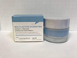 Cosmedica Skincare Multi-Active Hydrating Night Creme, 2.0 Ounce by Cosmedica Skincare