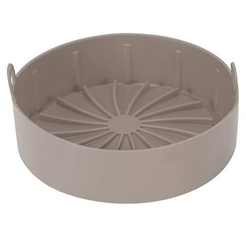 Semiter Grill Pan Bread Cake Mat, simplifica tu Vida agitada Forro de Olla para freír al Aire, diseño Innovador y Duradero Versastilidad Antiadherente Almuerzo Antiadherente para(Brown)