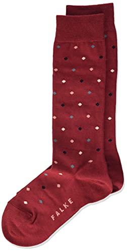FALKE Unisex Kinder Multidot K KH Socken, Rot (Ruby 8830), 35-38 (9-12 Jahre)