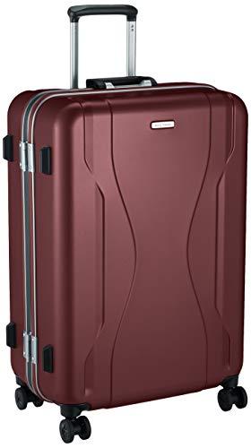 [ワールドトラベラー] スーツケース 日本製 コヴァーラム ベアリング入り双輪キャスター 73L 65 cm 5.3kg レッド