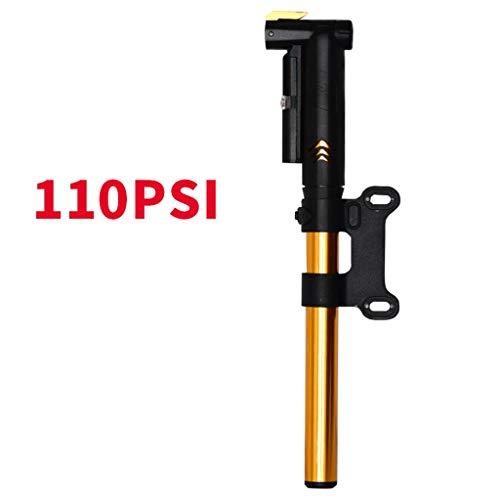 Fiets Pomp Draagbare Hoge Druk Pomp Fiets Accessoires Luchtcompressor Banden Inflator Autoband Pomp Geel