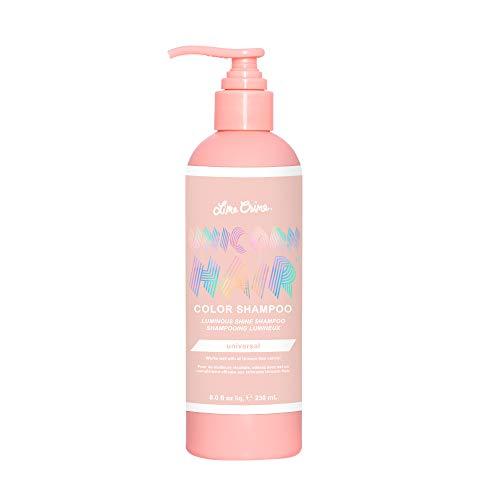 Lime Crime Unicorn Hair Color Shampoo, Universal - pH Balanced, Sulfate-Free Formula For All Hair Shades - Conditions & Boosts Shine - Vegan - 8 fl. oz.
