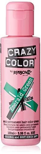Renbow Crazy Color Emerald Green no. 53 Colorante semipermanente dei capelli
