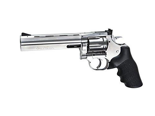 """Asg Airsoft Dan Wesson 715-6\"""" Silver Full métal Co2 Calibre 6mm. 1.1 Julios de Potencia 18194"""