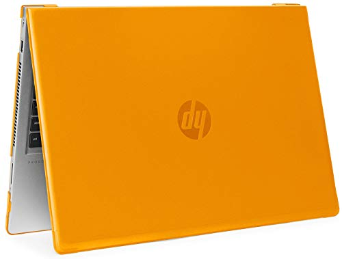 mCover Hartschale für HP ProBook 450/455 G6 Serie 2019 15,6 Zoll (Nicht kompatibel mit älteren HP ProBook 450/455 G1 / G2 / G3 / G4 / G5 Serie) Notebook PC Orange