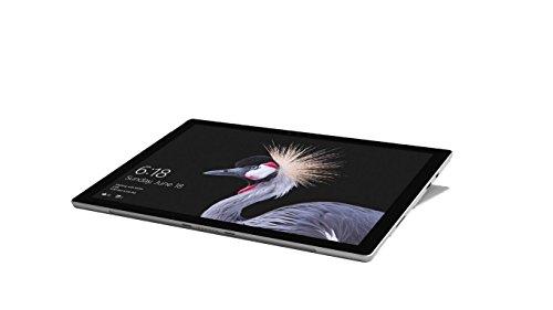 Microsoft Surface Pro (12,3 pulgadas) (Intel Core m3 de la 7ª Género: 4 GB de RAM, 128 GB SSD), plata, sin lápiz (certificado y reacondicionado) ohne Type Cover schwarz/ silber 4 GB RAM + 128 GB SSD
