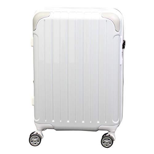 [シフレ] スーツケース 4輪 機内持ち込み 42L 48.5cm 3.1kg スカイラボ SKY2145-48 拡張 LCC対応 カーボンホワイト