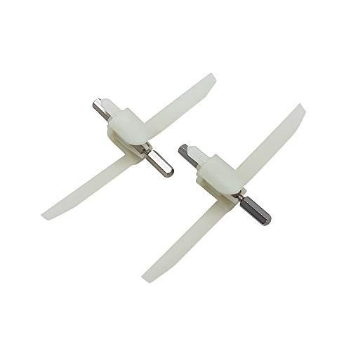 2er Set Mitnehmer Flügelrad für Durchlaufschnitzler MUZ4DS4 - MUZXLVL1 der Bosch Küchenmaschine MUM4 - MUM XL